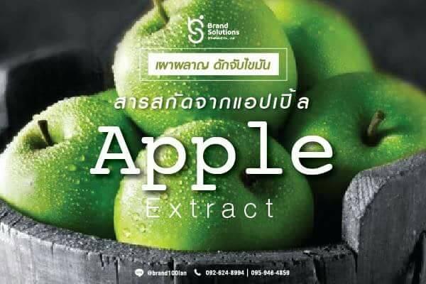 สารสกัดจากแอปเปิ้ล ดักจับไขมัน